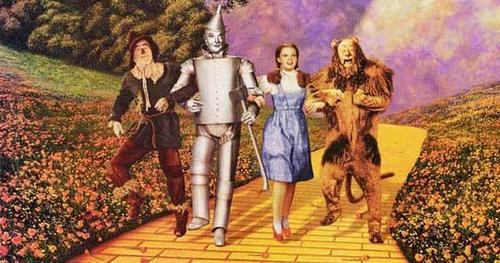 """""""Who's Line"""" - who said to Dorothy """"Parden me,this way is a very nice way""""?"""