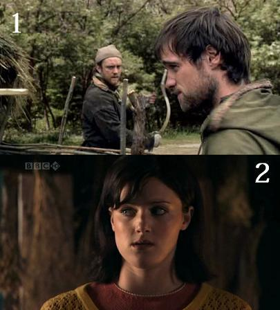 Both of these screencaps are from the same episode. True or False?