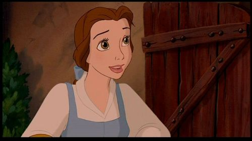 The art director who colour keyed Belle used blue . But why did he use blue on Belle and not on the other villiagers