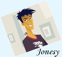 Who does the voice of Jonesy Garcia?