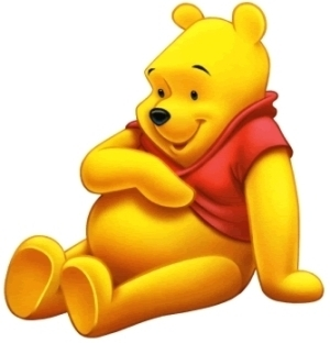 Finish Winnie the Pooh's question: Do آپ have any _____?