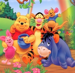 Who is the youngest member of the 100 Acre Wood gang?