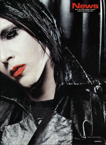 What is Marilyn Manson fav cartoon?