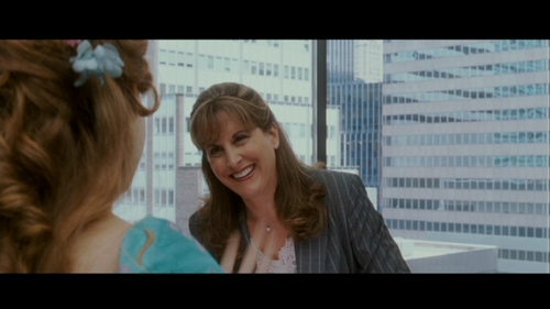 What is the first line Jodi Benson says in the movie