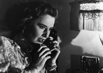 BARBARA STANWYCK's PARTNER : Sorry, Wrong number ?