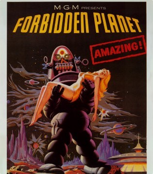 Who co-starred with Anne Francis in Forbidden Planet?