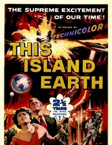 Who starred with Jeff Morrow in This Island Earth?