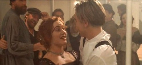 What time did Jack and Rose go to the 3rd class party?