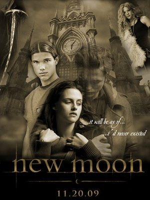 What chapter does Edward leave Bella in New Moon?
