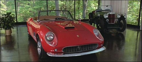 In which movie can we see this 1961 Ferrari 250 GT Spyder California ?