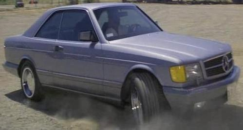 In which movie can we see this 1986 Mercedes-Benz 560 SEC C126 ?