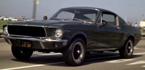 In which movie can we see this 1968 Ford 반 야생마, 무스탕, 무스 탕 390 GT ?