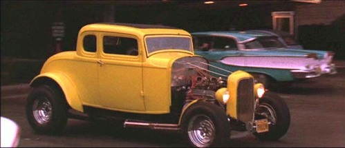 In which movie can we see this 1932 Ford Deuce Coupe ?