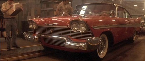In which movie can we see this 1958 Plymouth Fury ?