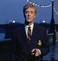 What character is Michael Caine in the picture?