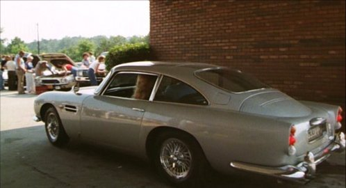 In which movie can we see this 1964 Aston Martin DBS ?