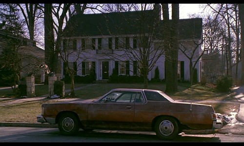 In which movie can we see this 1975 Mercury Marquis Brougham ?