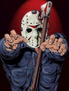 Who had the hockey mask before Jason in part 3?