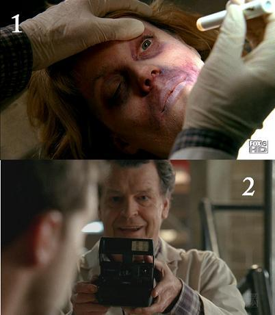 Both of these screencaps belong to the same episode. TRUE of FALSE?