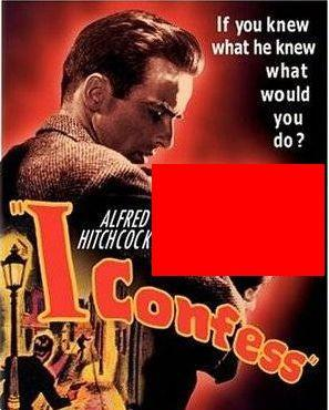 Who starred with Montgomery Clift in I Confess?