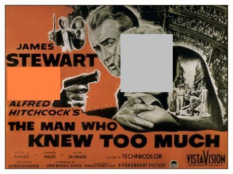 Who starred in the 1956 remake of The Man Who Knew Too Much?