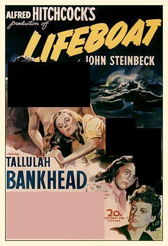 Who starred with Tallulah Bankhead in Lifeboat?