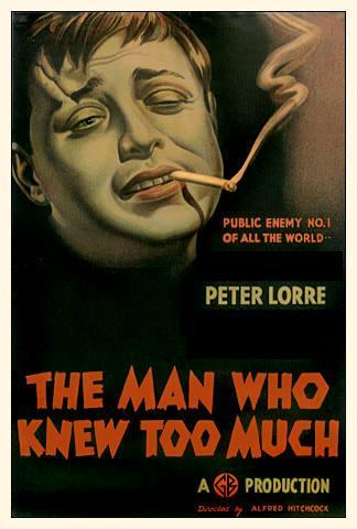 Who starred with Peter Lorre in the 1934 version of The Man Who Knew Too Much?