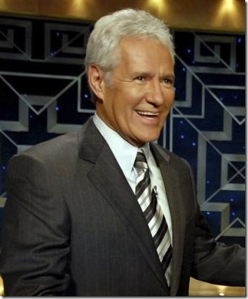 T/F: Alex Trebek appeared briefly on an episode of The X-Files.