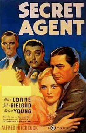 Who starred with Robert Young in Secret Agent?
