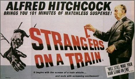 Who starred with Farley Granger in Strangers On A Train?