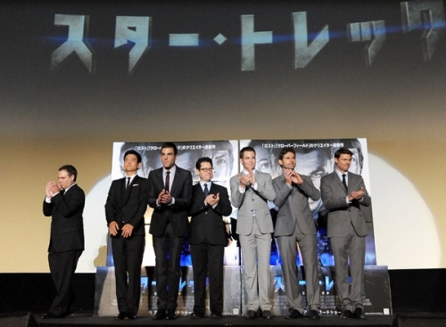 When did Star Trek 2009 premiere in Japan?
