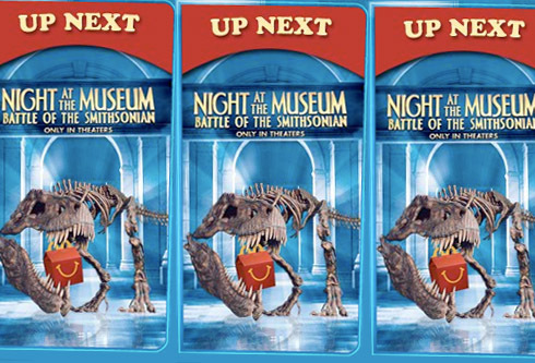 How many toys are in the Night at the museum 2 happy meal set?