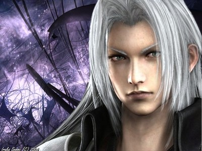 Who is Sephiroth's father?