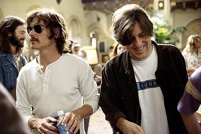 What was the name of Crudup's character in the 2000 film Almost Famous?