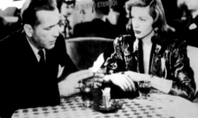 Which Humphrey Bogart and Lauren Bacall film is this image from?