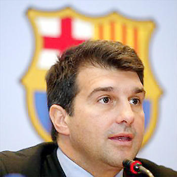 Who is chairman of Barcelona?
