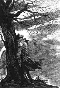 Haunting Films - In the haunting film Wuthering Heights - What are the names of the two lovers?