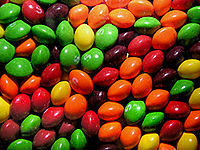 Which of these is not in the Skittles family?