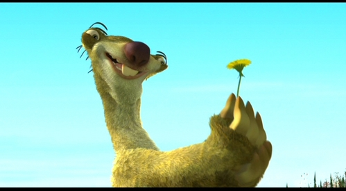 Does Sid eat the last dandelion of the season?