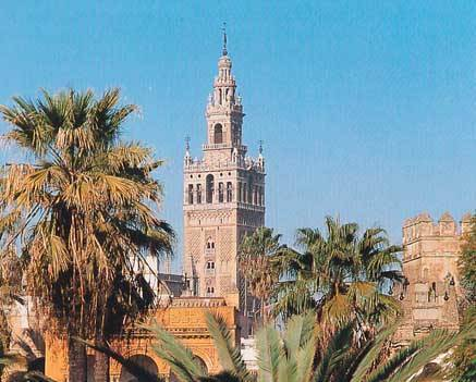 Where would you find the Giralda?