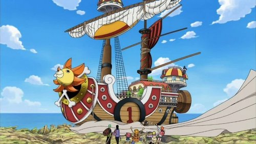 In which episode was the Thousand Sunny revealed?