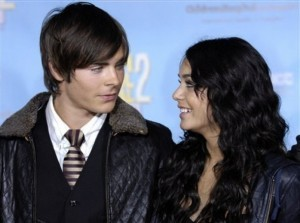 why did zac break up with vanessa in 2007?