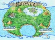 Who found the map to Skypiea?