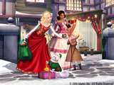 whats the name of barbie or eden fashion designer in barbie in the christmas carol?