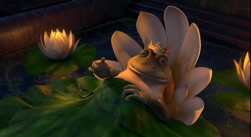 "In Shrek The 3rd which song do the frongs ""sing""..at their frog-king's funeral?"