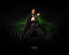 What's the name of the green ranger(Xander) Power Ranger Mystic Force???