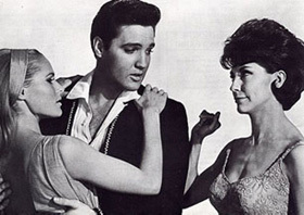 Elvis is starring in which film?
