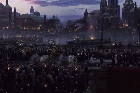 what planet is this picture of padme amidala funeral ?