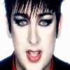What colour is Boy George's eyes
