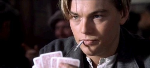 We see Jack to smoke only in the poker scene.